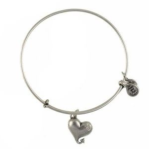 Alex and Ani Cupid's heart retired bracelet
